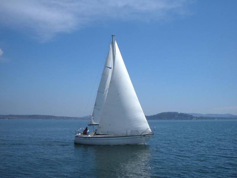 Barca a vela comet 800 usata sul lago di garda for Accessori barca vela