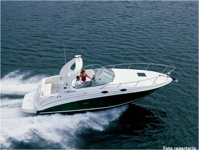 sea ray 315, vendita, cabin cruiser, lago di garda