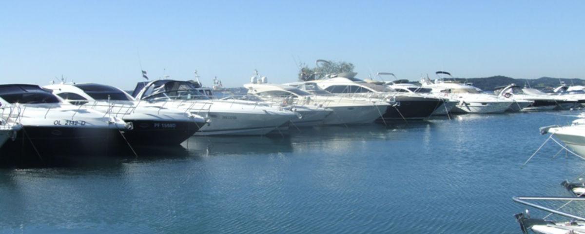 Harbour moorings Garda Lake - Adriatic Sea